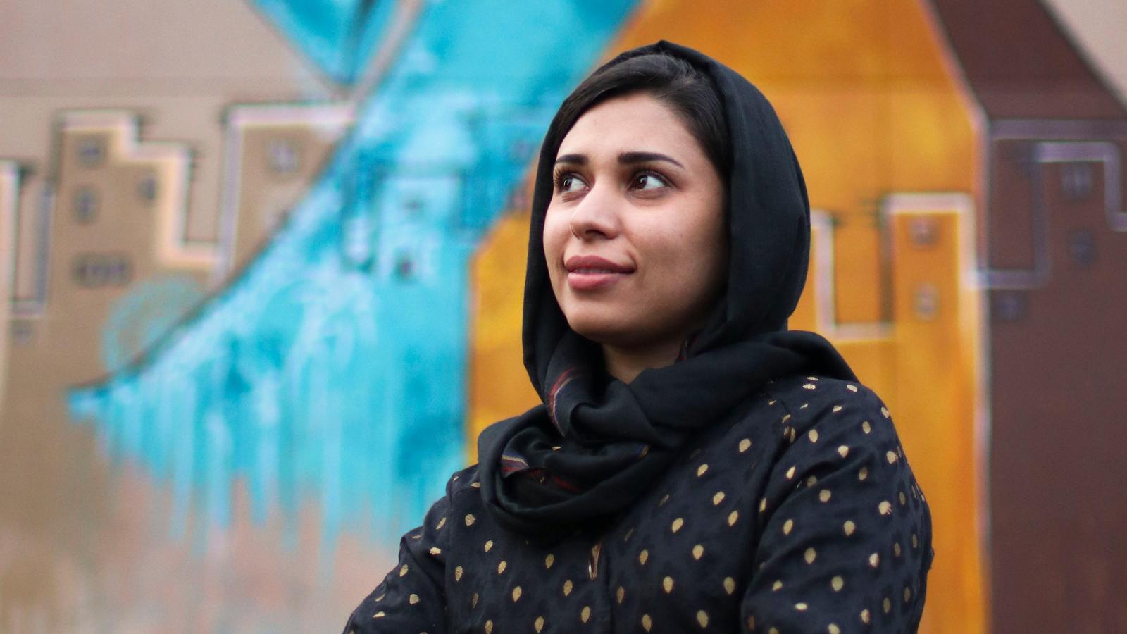 Shamsia Hassani (Afghanistan)